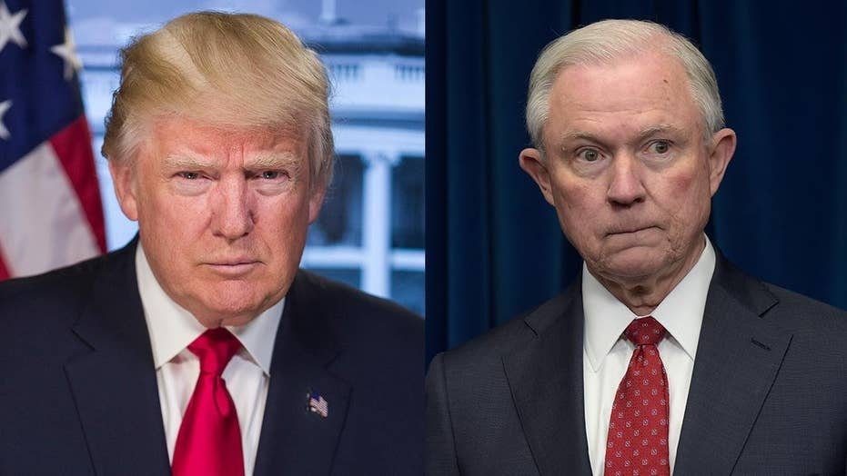 Trump's feuds with Jeff Sessions: A history