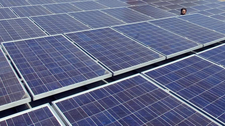 President Trump imposed a trade tariff on solar panels last month, Alicia Acuna reports on the decision's impact on companies in the US.
