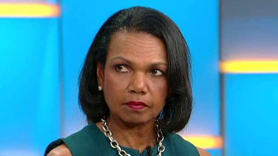 Condoleezza Rice calls on Schiff to move on from the Russian investigation. The former secretary of state and David Kennedy are on 'Fox & Friends' to also discuss their new documentary 'American Creed.'