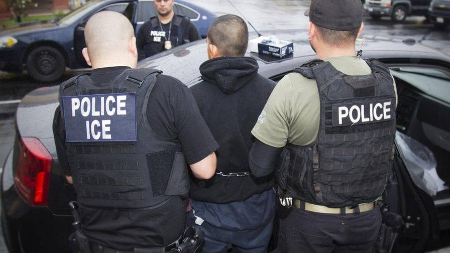 Assistant director of Homeland Security Investigations Matthew Allen says they have a directive straight from President Trump to ramp up worksite enforcement operations; Hillary Vaughn reports.