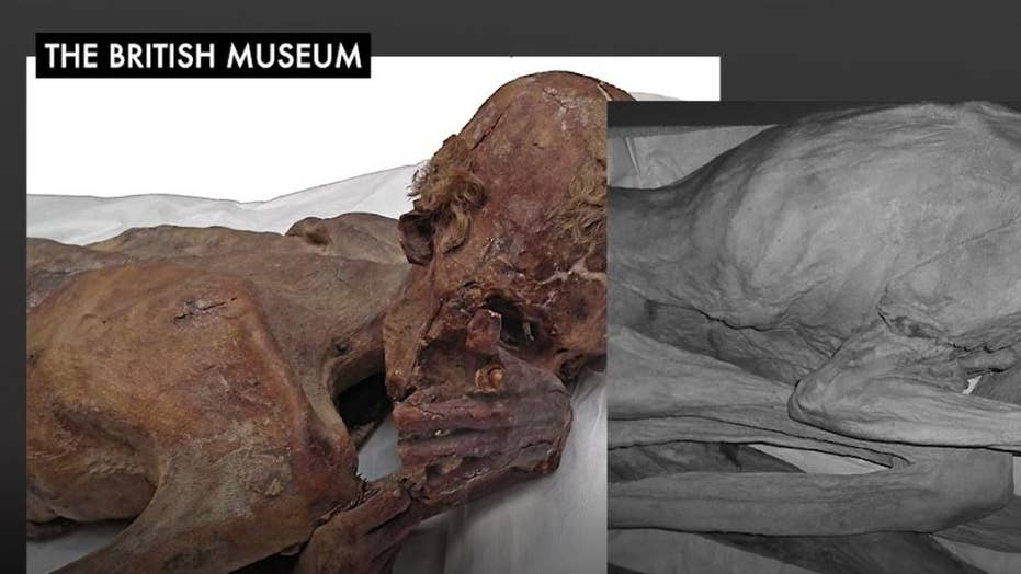 Oldest Egyptian mummies with figural tattoos found