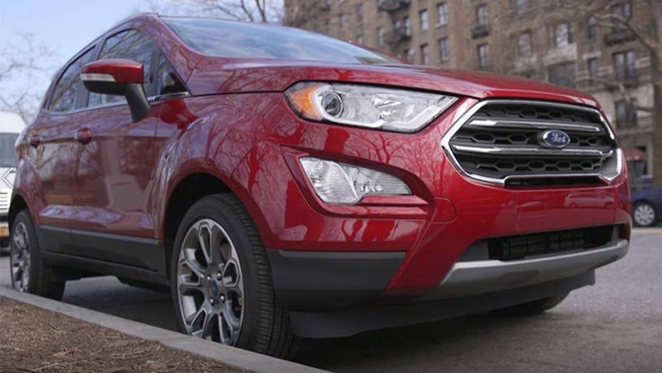 2018 Ford Ecosport Review A Small Suv That S A Big Deal Fox News