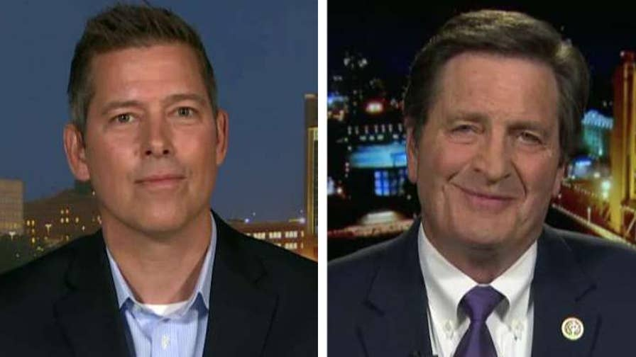 Conservatives are striking back after activists call for companies to cut ties with the NRA after the Parkland, Florida school shooting; Reps. Duffy and Garamendi weigh in on 'The Ingraham Angle.'