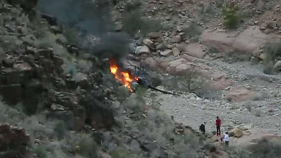 British tourist died in crash at Grand Canyon.