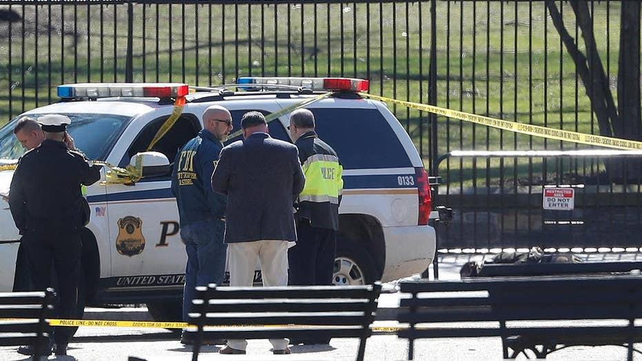 Secret Service: Man who shot himself near White House died