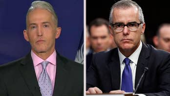 Inspector general expected to criticize former FBI deputy director McCabe for improper media disclosure; Congressman Trey Gowdy opens up on 'Sunday Morning Futures' about leaks in Washington.