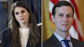 Hope Hicks leaving, Jared Kushner downgraded.