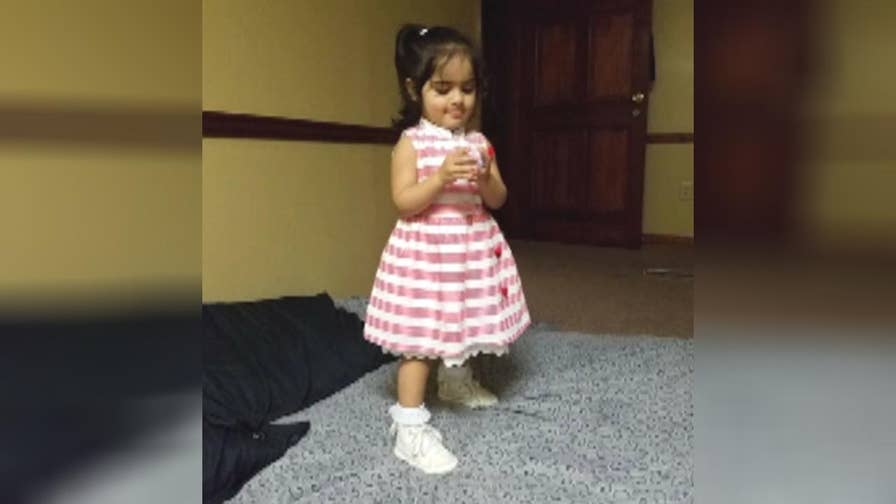 Father mourns the death of two-year-old daughter.