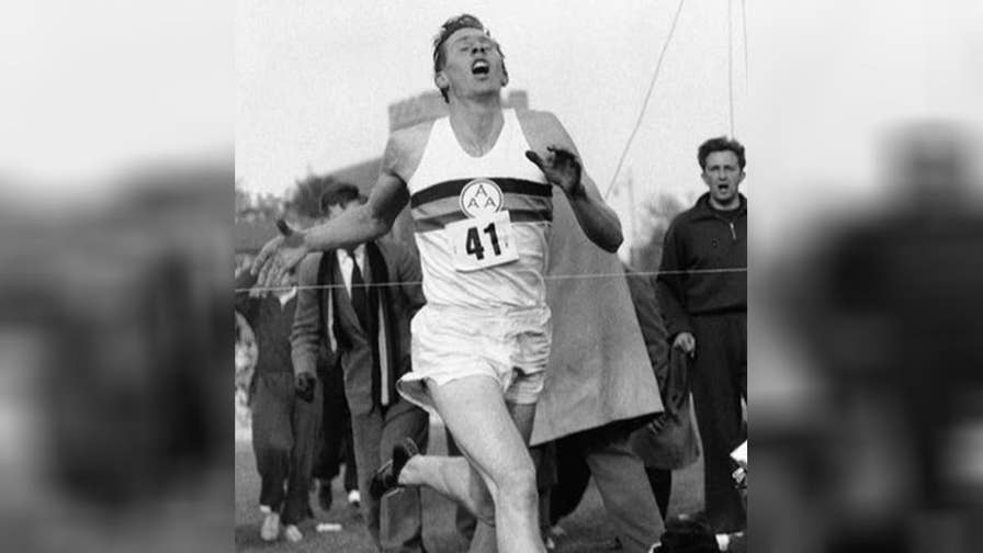 Roger Bannister was the first athlete to run a mile in under four minutes.