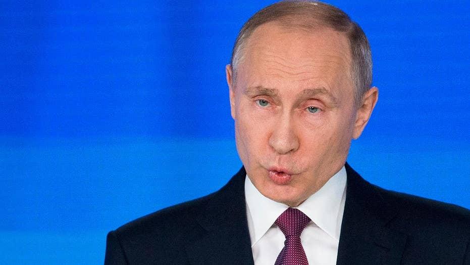 Vladimir Putin boasts of missile with 'unlimited range'