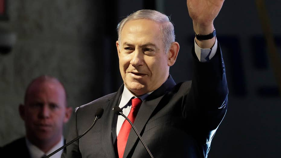 Netanyahu visits the US amid public corruption charges
