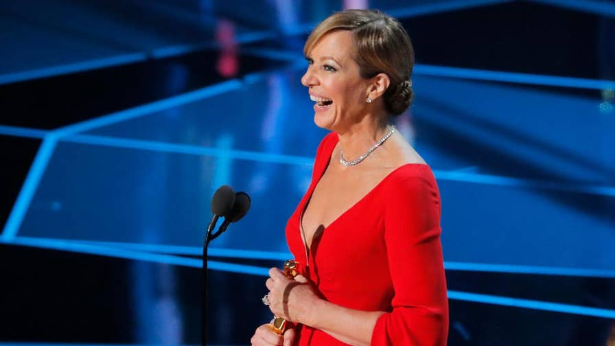 Allison Janney just won her first Oscar for her performance as LaVona Golden, Tonya Harding's cold, abusive mother in 'I, Tonya,' and fans were quick to offer their congratulations to the 58-year-old actress.