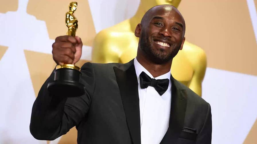 Kobe Bryant won the award for best animated short film at the Oscars. But some noted that with past rape accusations against Bryant, his appearance seemed an odd fit with the night's Time's Up anti-harassment theme.