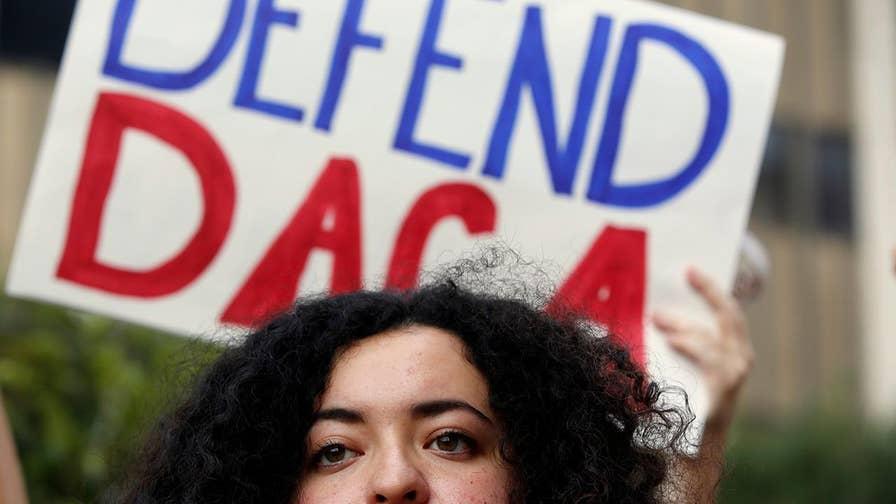 Have Democrats moved on from DACA? Former congresswoman Nan Hayworth debates Democratic strategist Chuck Rocha on 'Fox & Friends First.'