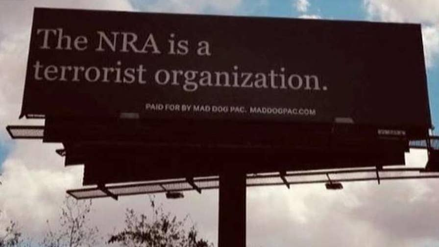 PAC puts up anti-NRA billboard in Florida, blasting the group as a 'terrorist organization.'