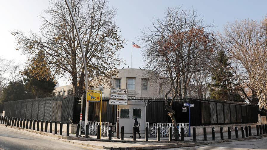 Americans in Ankara, Turkey are warned to avoid the building and keep a low profile.