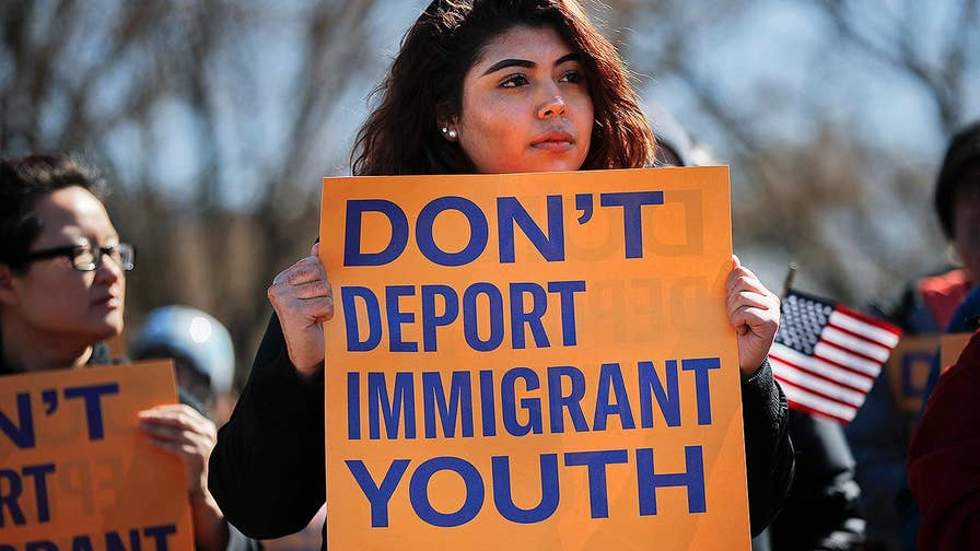 Dreamers hold rallies on Capitol Hill.