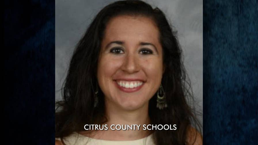 A Florida school teacher gets removed from her classroom because she reportedly hosted a white nationalist podcast and exposed her students to nationalist ideology.