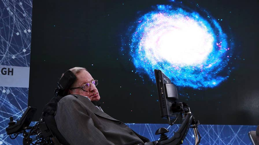 Famous physicist Stephen Hawking describes the universe before the Big Bang.