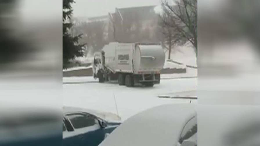 Powerful winter storm system set to slam into northeast corridor; Adam Klotz reports from the Fox Extreme Weather Center.