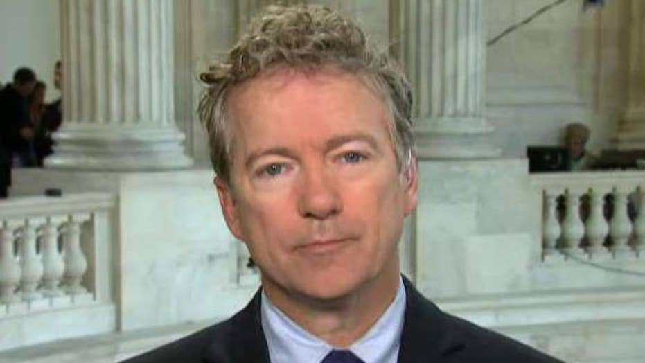 Sen. Rand Paul: Russia probe has become a 'witch hunt'