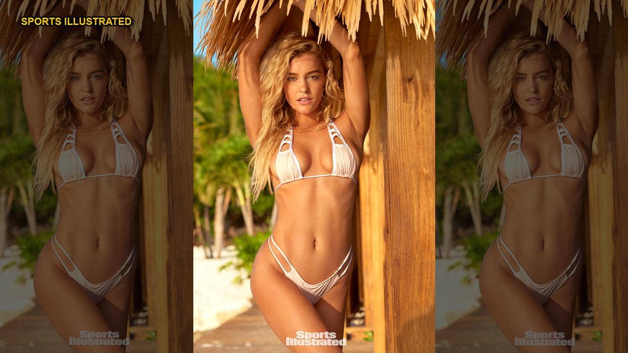 Sports Illustrated Swimsuit model Georgia Gibbs says she was discovered by magazine on Instagram