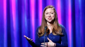 Chelsea Clinton on Friday called out New York Times reporter Amy Chozick for claiming the former first daughter popped Champagne on the night of the 2016 presidential election and poured it into Hillary Clinton campaign staffers' glasses.