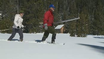 End of winter snowstorms have helped beef up California's snowpack, slowing the state's plunge back into dangerous drought levels.