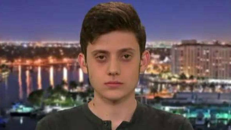 16-year-old Kyle Kashuv is a junior at Marjory Stoneman Douglas High School and a strong supporter of the Second Amendment.
