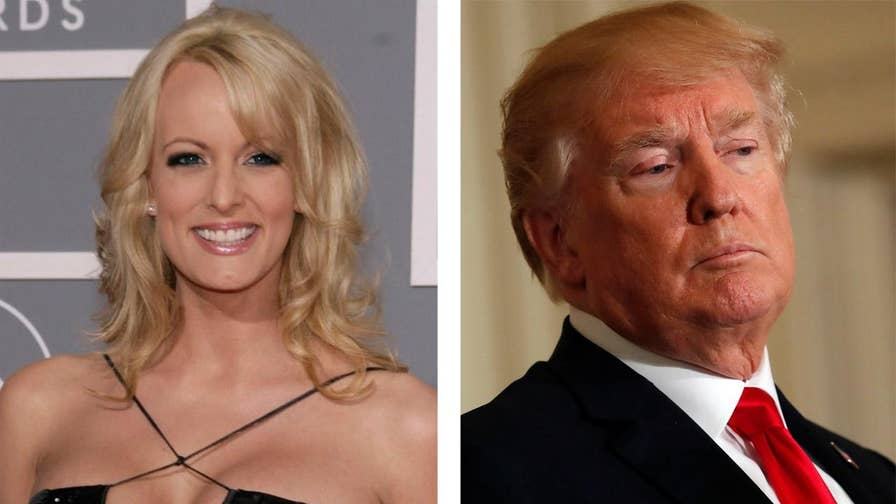 Adult film star claiming the nondisclosure agreement she signed isn't valid because it lacks President Trump's signature.