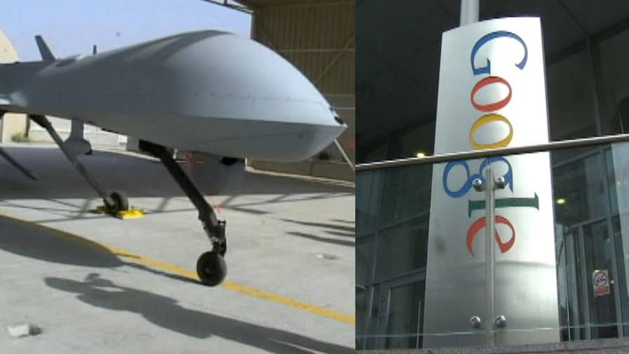 How Google is helping the Pentagon with military drones and why it's concerning to some of the tech giant's employees.