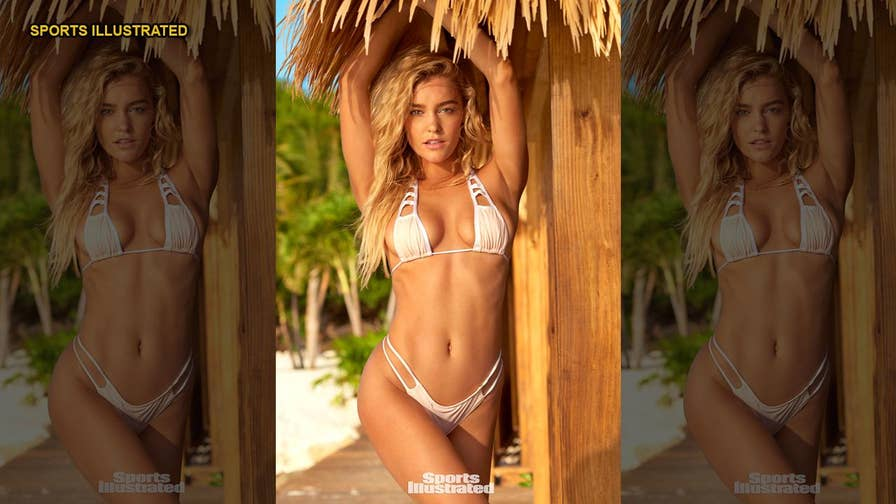Sports Illustrated model Georgia Gibbs graces the pages of this year's Swimsuit issue - and the Australian stunner says strutting her stuff in front of cameras was a breeze.