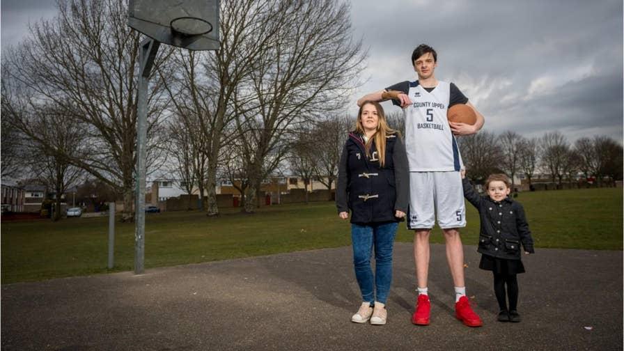 He's 16 and he's gigantic: Meet world's tallest teenager ...