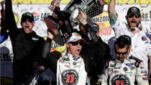 Kevin Harvick has dropped from first to third in the NASCAR Cup standings after both he and his team were docked 20 points for failing a post-race inspection after their dominant victory in Las Vegas last weekend.