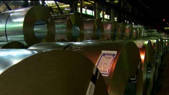 California steelworkers worry about layoffs amid tariffs; national correspondent William La Jeunesse reports from Fontana, California.