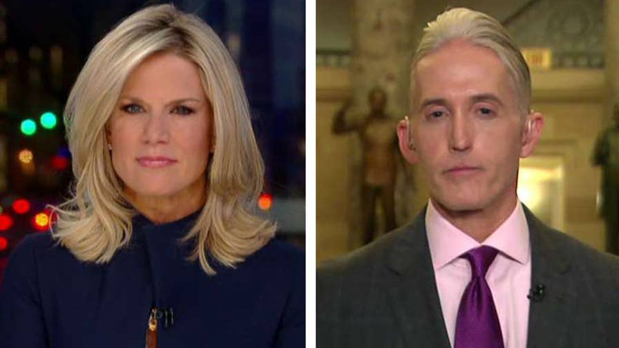 Republican lawmakers call for a second special counsel investigation; Congressman Trey Gowdy explains on 'The Story with Martha MacCallum.'