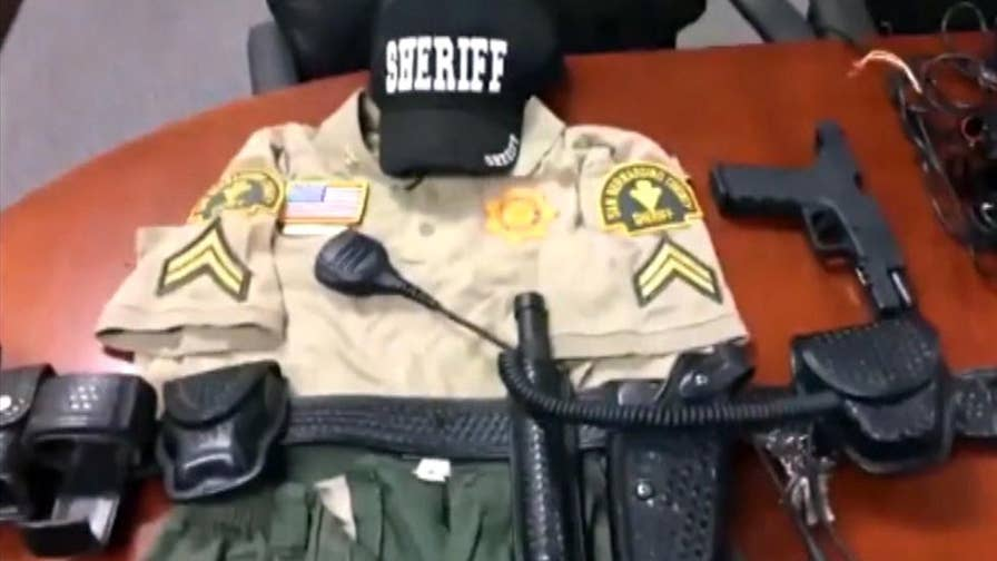 Teen impersonated a deputy sheriff; police say he pulled vehicles over, issued warnings.