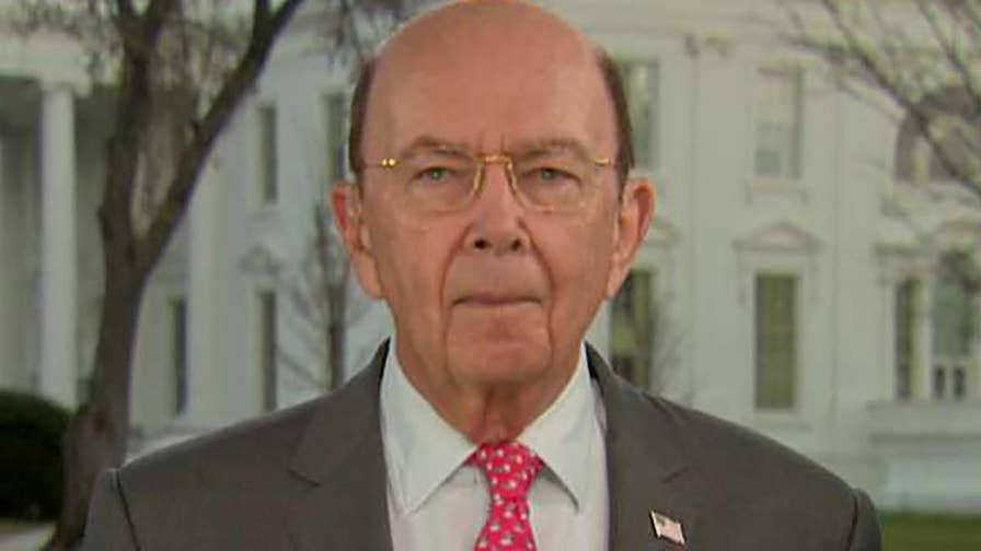 Trump signs tariffs on imported steel and aluminum; Commerce Secretary Wilbur Ross says the president is taking bold action against unfair trade practices.