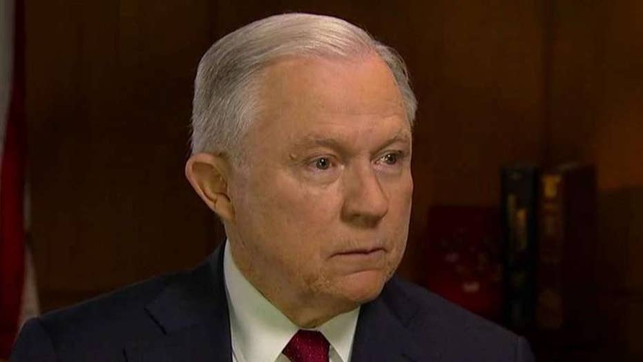 Jeff Sessions reacts to calls for a second special counsel