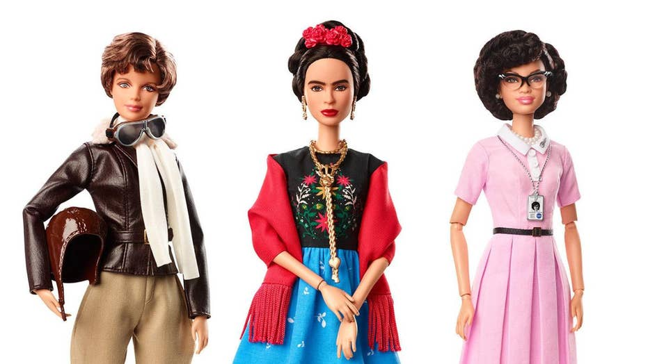 Barbie releases new collection for International Women's Day