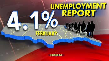 Unemployment remains at 4.1 percent.