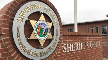 Former Davidson County Sheriff Gerald Hege, well known for his military style of policing, announces his run for the same position in the county's primary election after being cleared of two felony convictions