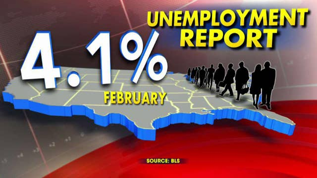 313,000 jobs added in February, most in 1.5 years