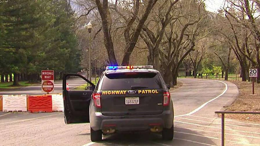 Reports of shot fired in Yountville, California; witnesses say suspect is armed with military-style weapon and possibly wearing body armor.