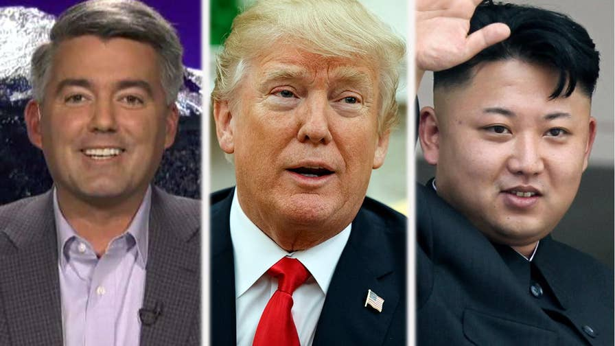Senator Cory Gardner explains how President Trump's doctrine of maximum pressure is actually what has persuaded Kim Jong Un to finally agree to a U.S. meeting.