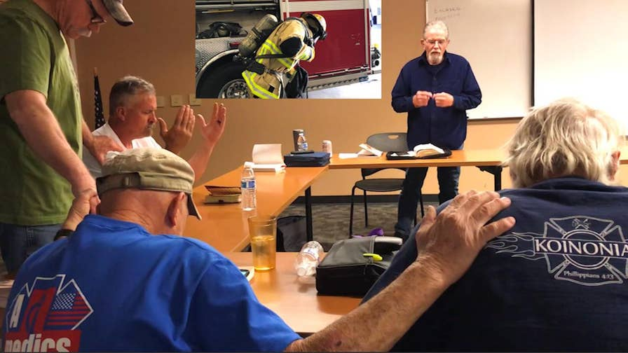 Faith-based group hopes to extinguish firefighter suicides, mental battles.