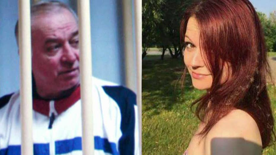 Ex-Russian spy targeted in nerve agent attack