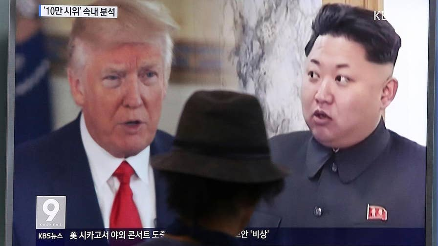 President agrees in principle to meet with Kim Jong Un for nuclear talks.