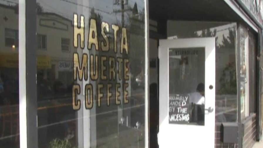 The policy at Hasta Muerte Coffee has received both criticism and support.