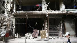 """The U.N. human rights chief told an informal meeting of the Security Council Monday that the Syrian government's five-year siege of the Damascus suburbs of eastern Ghouta has involved """"pervasive war crimes,"""" use of chemical weapons and starvation as a weapon of war."""